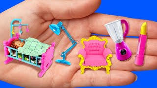 MINIATURE CRAFTS FOR YOUR DOLL  5-Minute Recipes For A Barbie&#39s Perfect Life!