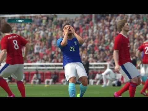 Brasil x República Tcheca (PES2017) Copa Internacional. EU SÓ QUERIA LEVAR ALEGRIA PRO MEU POVO.
