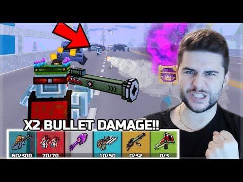 BULLETS NOW DO 2X MORE DAMAGE! NEW BATTLE ROYALE UPDATE | Pixel Gun 3D
