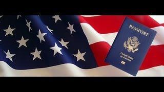 АМЕРИКА #58 американский и русский паспорт на ребенка