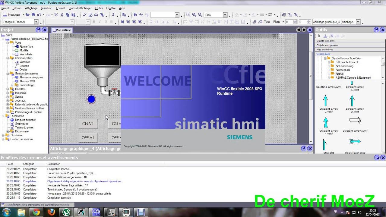 logiciel wincc flexible 2008 gratuit