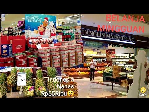 BELANJA MINGGUAN BELANJA BUAH DAN SAYUR ORGANIC  SINGAPORE//Singapore Vlog
