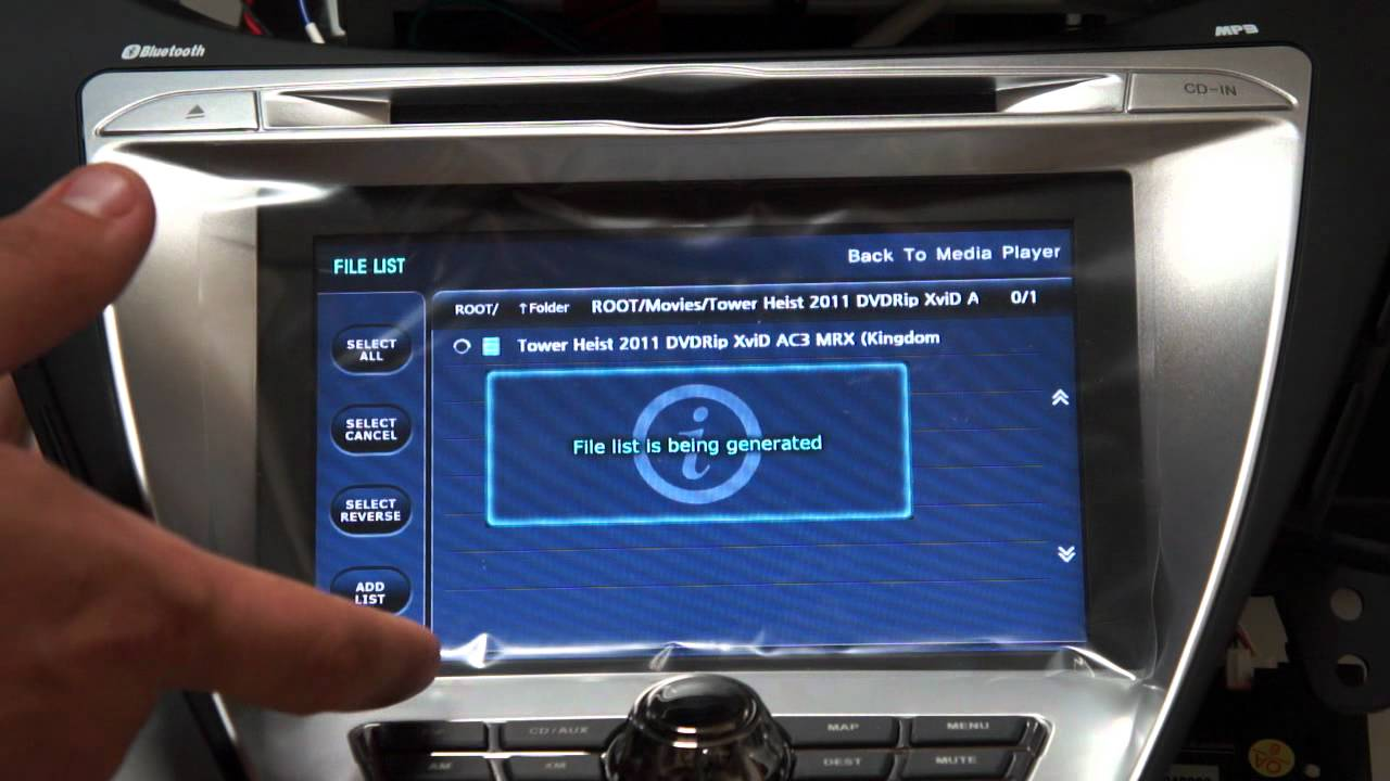 Unavi Oem Integrated Aftermarket Navigation System