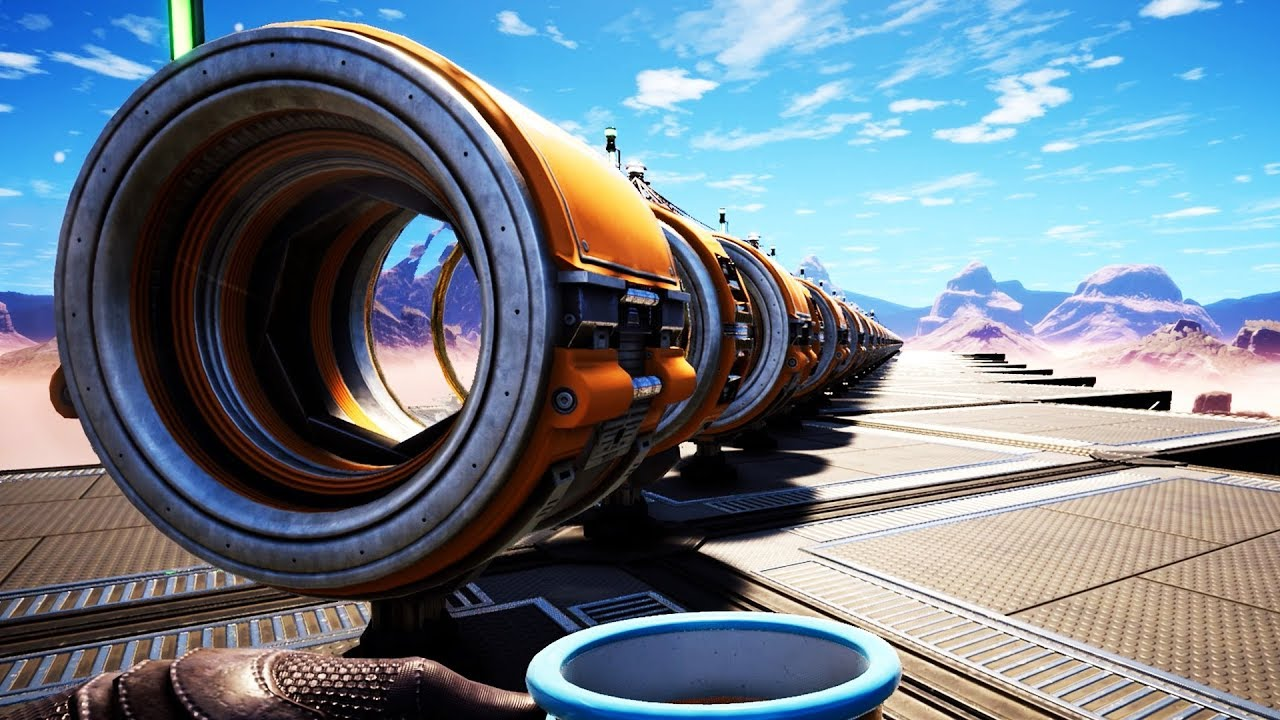 I Built a 600 Meter Human Cannon That Ends All Existence – Satisfactory