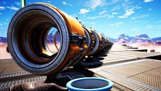 I Built a 600 Meter Human Cannon That Ends All Existence  Satisfactory