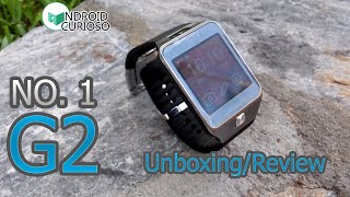 No.1 G2 SmartWatch - CLON del Galaxy Gear 2 - UNBOXING/REVIEW En ESPAÑOL