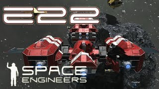 Space Engineers Multiplayer - E22 - Station taking Shape