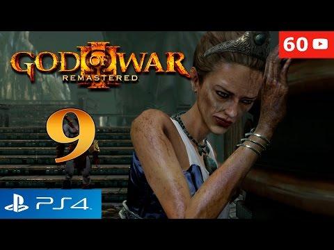 God of War 3 Remastered PS4 Walkthrough Parte 9 Hera Gameplay Español 60fps