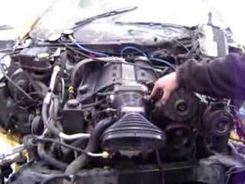07322 96 Corvette LT1 Engine Running 80k mi  YouTube