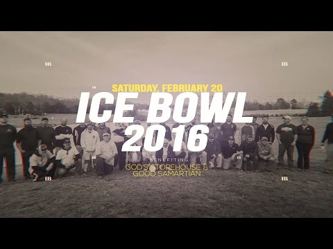 2016 PDGA Disc Golf Ice Bowl  - Open Men First Round Front 9