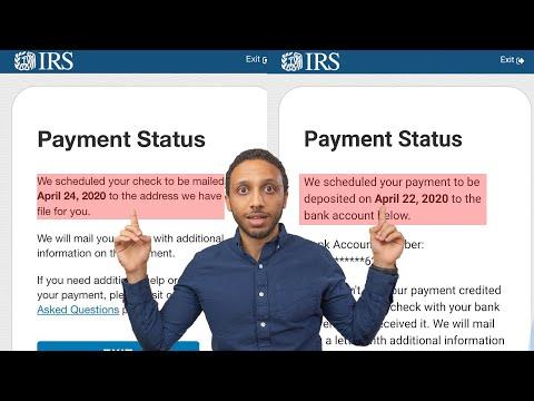 Stimulus Check Update   Next Direct Deposit Date