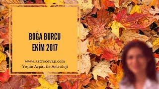 BOĞA Burcu Ekim 2017 Astroloji