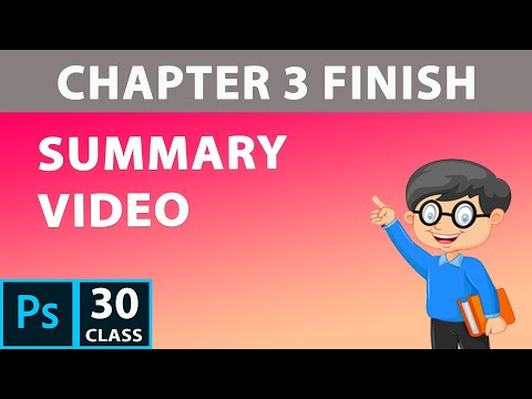 Summary Video of Selection (Chapter 3) PhotoShop CC 2019 | PhotoShop Tutorial for beginner thumbnail