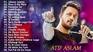 Atif Aslam Songs 2021   Best Of Atif Aslam 2021   Atif Aslam Romantic Hindi Songs - FULL ALBUM