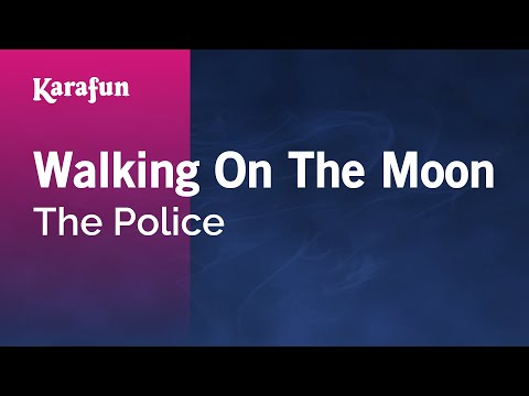 Karaoke Walking On The Moon - The Police *