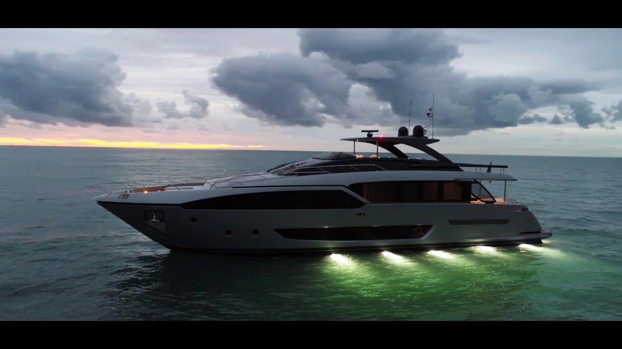 Luxury Yacht   Riva 90&39; Argo   Ferretti Group   YouTube