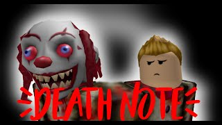 Death Note [ROBLOX HORROR MOVIE]