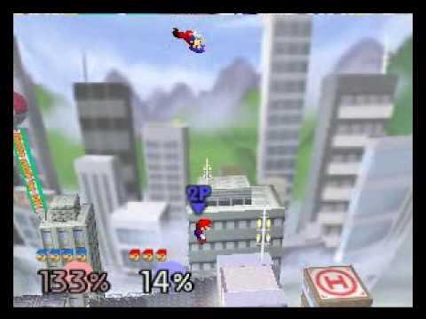 SSB64 Online:  \\ª{[Ð-Ñ]}ª{I}mNotPro[A-G]× (Blue Mario) vs [§§ß] K¡rØ× (Red Mario) R2