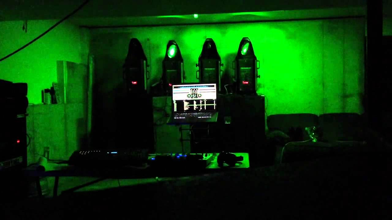 crazy beatz dj technobeam lights youtube