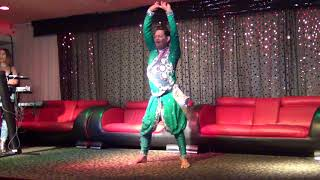 Dheeraj Gayaram performs at Open Karaoke Dinner & Dance party 2017