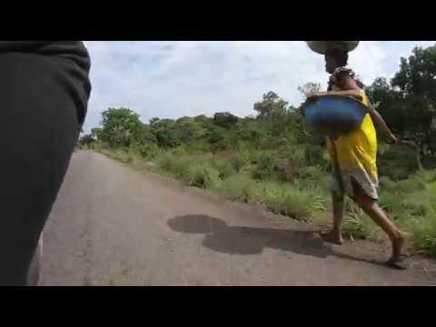 CENTRAFRIQUE 2019! ROUTE NATIONALE 1 BANGUI BOALI!!