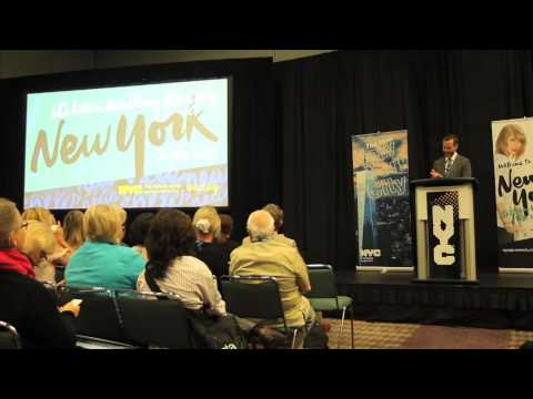 Fred Dixon, President & CEO, NYC & Company - Press Conference IPW 2015 - Unravel Travel TV