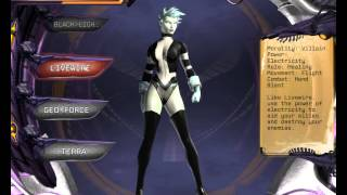 1st Play: DC Universe Online Character Creator part 1
