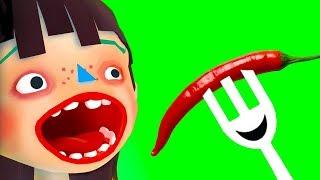ГОТОВКА ЧЕЛЛЕНДЖ 13 Хэллоуин Мультяшная игра в развлекательном видео для детей ПУРУМЧАТА