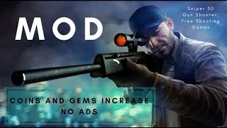 Sniper 3D Gun Shooter: Free Shooting Games MOD | Coins And Gems Increase. No ADS | Latest Version