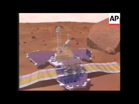 USA: PLANS FOR 2 UNMANNED MISSIONS TO PLANET MARS BY YEAR 1997 / 98
