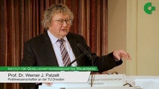 """Werner J. Patzelt - """"Europa für alle? Aspekte der neuen Völkerwanderung"""""""