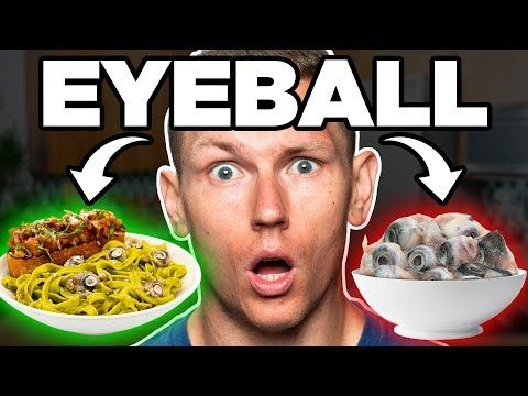 Fish Eyeball Pasta Taste Test | FOOD FEARS