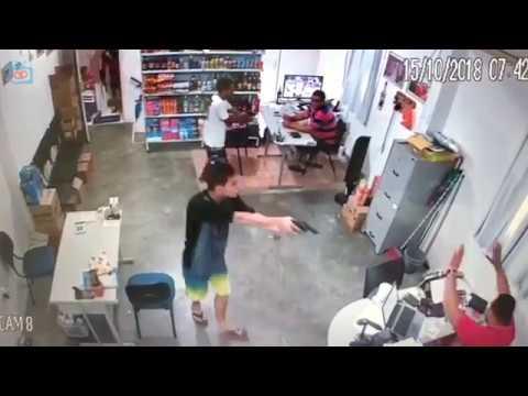 Bandidos armados assaltam Distribuidora de Bebidas em Itambé