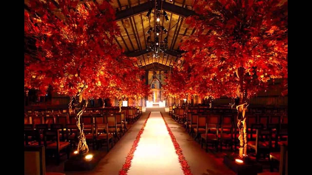 red wedding theme ideas