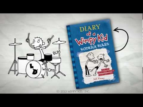 Diary Of A Wimpy Kid Rodrick Rules Book 2 Wimpy Kid