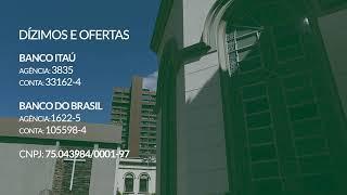 12/07/2020 - 11hs - Culto ao Vivo - Rev. Juarez Marcondes Filho