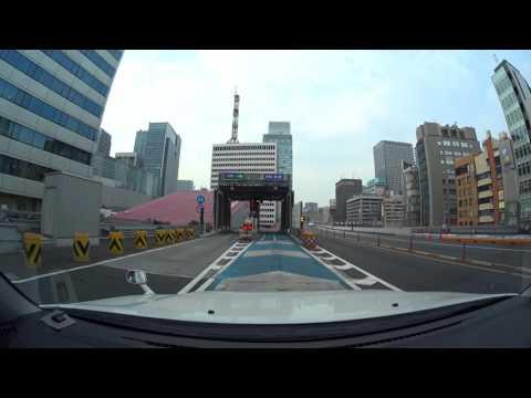 Tokyo expressway drive 4K 2017 芝浦PA 早稲田