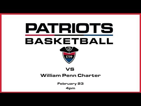 Varsity Girls Basketball: Germantown Academy vs William Penn Charter School