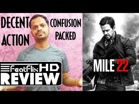 Mile 22 (2018) Action, Adventure, Crime Movie Review In Hindi | FeatFlix