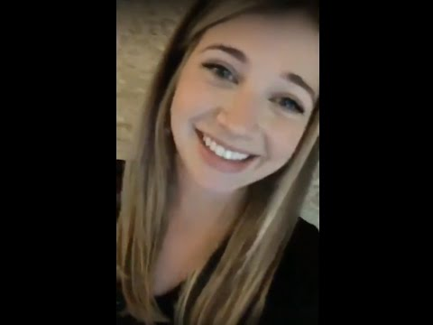Sarah Fisher Instagram Live March 29, 2017