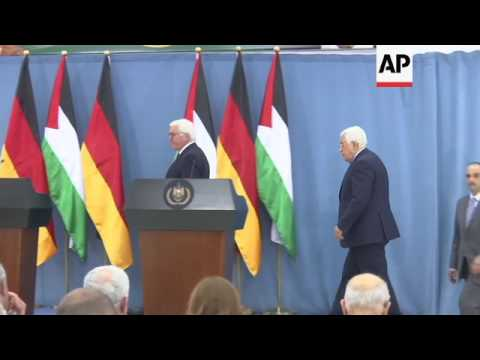 Steinmeier: two state solution truly urgent