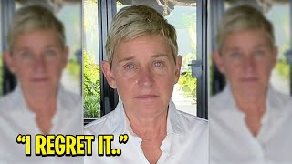 """""""Please..."""" Ellen Degeneres Reacts to Loosing Her Show!"""