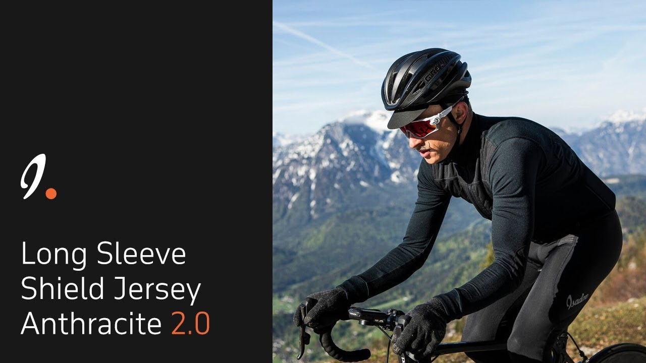 d6bc1a7d1 Long Sleeve Shield Jersey Anthracite 2.0 by Isadore Apparel – AW 2018