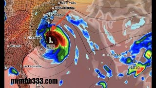 NEW - CAT 4 Hurricane Florence COULD STALL over land! - 48 inches possible