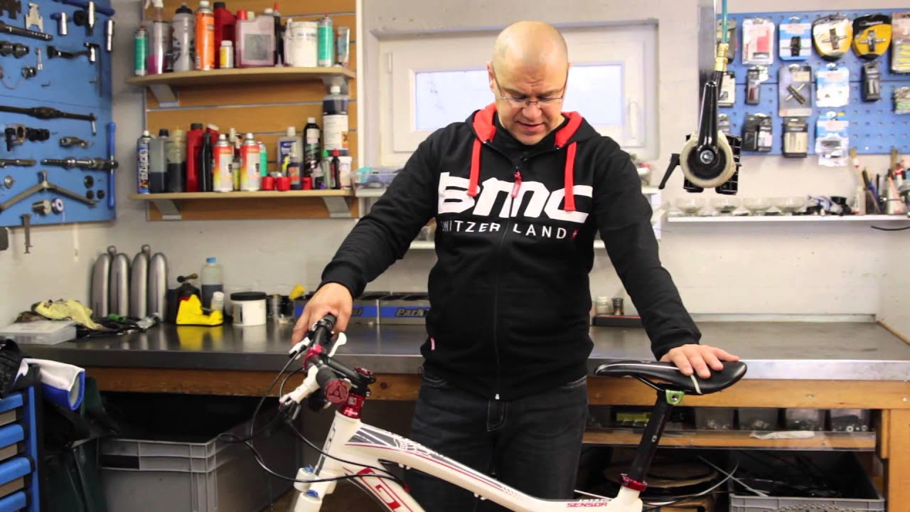 Rahmenhöhe beim Bike bestimmen - YouTube