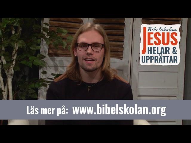 Oskars vittnesbörd från Arkens bibelskola Jesus Helar och Upprättar