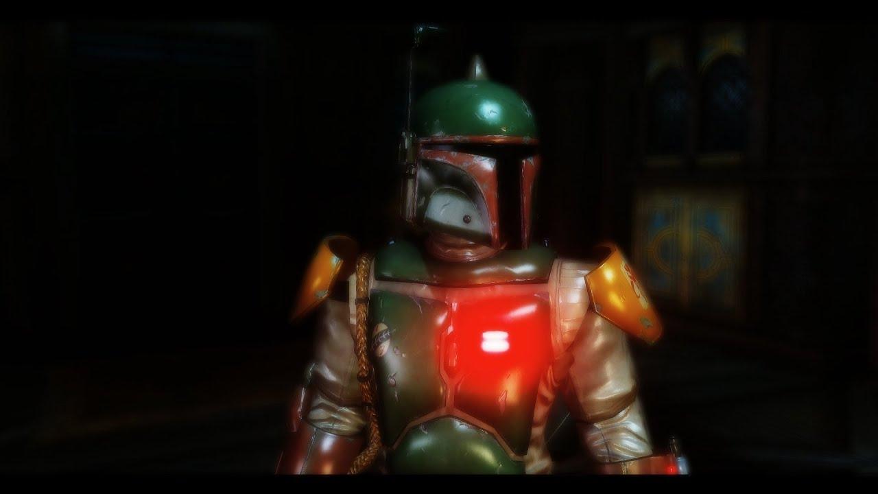 mandalorian armor skyrim mod youtube