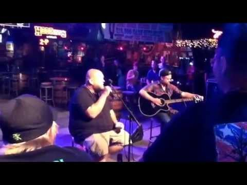 Big Smo, Haden Carpenter beginning the Eat & Greet in Knoxville, TN on June 9, 2014 Cotton Eyed Joe