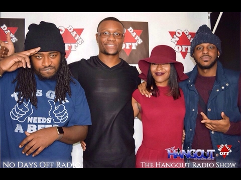 Morris Austin Live interview with No Days Off Radio on The Hangout Radio Show
