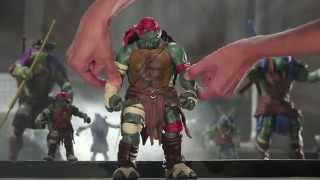 Teenage Mutant Ninja Turtles Movie Product Commercial
